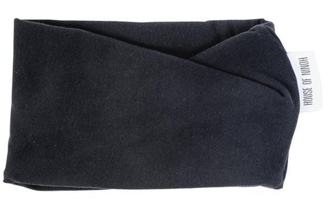 House of Ninoh - scarf Turtle neck Graphite black