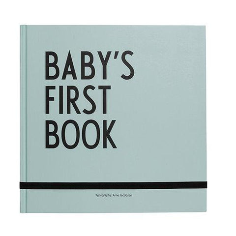 Design Letters - Baby's First Book Mint