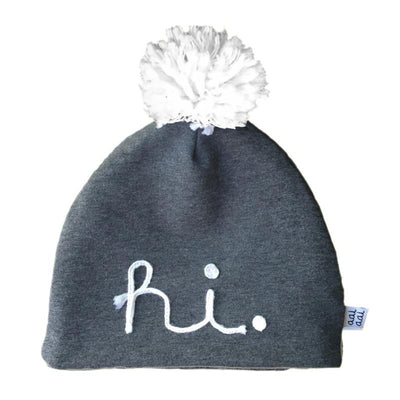 Aai Aai - Beanie HI Grey winter