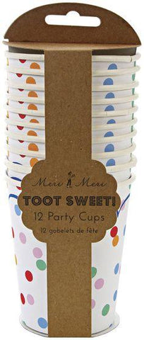 Meri Meri - Toot Sweet Spotty Party Cups