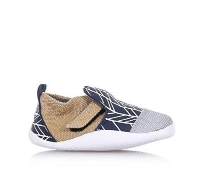 Bobux - Step Up Play Xplorer city navy herringbone