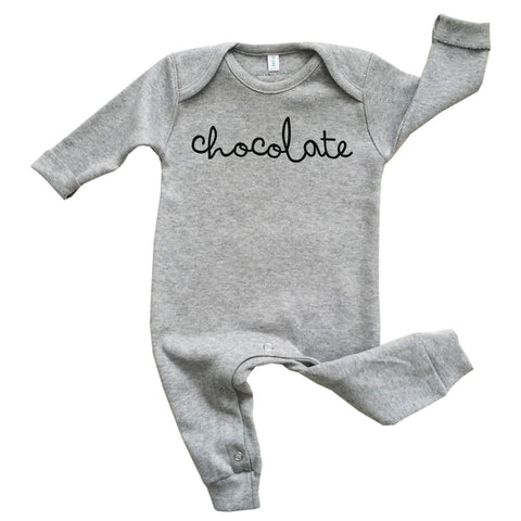 Playsuit Grey Chocolate