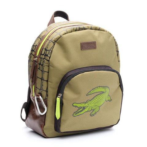 ZEBRA Trends Boys Backpack small Croco Green