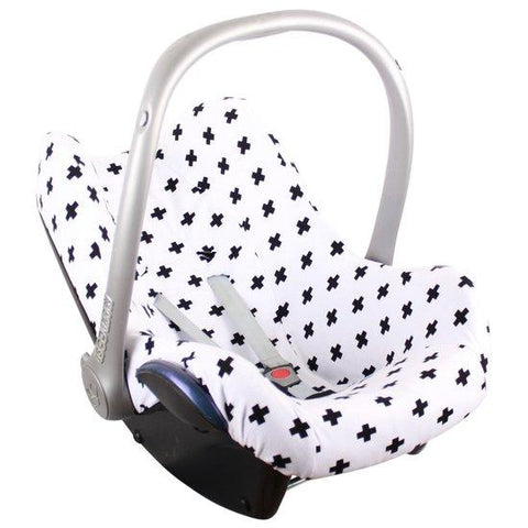 Ukje - cover Maxi Cosi white and black plus