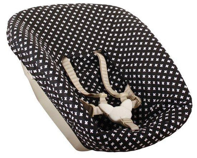Ukje - cover Stokke Newborn Trip Trap litte black plus