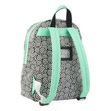 Zebra Trends Girls backpack Medium circles mint