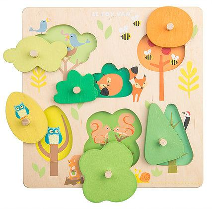 Le Toy Van - Woodland Tree Puzzle