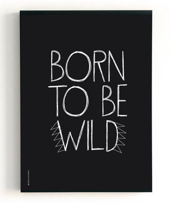 "The Birds & the Bees - Poster ""Born to be wild"" / ""Gorgeous"""