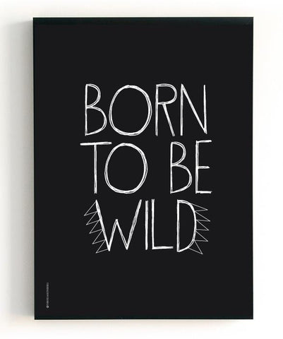 "2 in 1 Poster The Birds & the Bees ""Born to be wild"" / ""Gorgeous"""