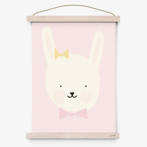 "Poster A3 Eef Lillemor ""Miss Bunny"""