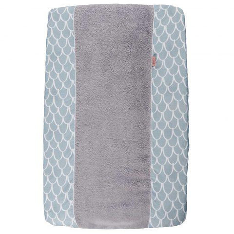 Witlof For Kids - Changing Pad Cover Fly High Dusty Blue