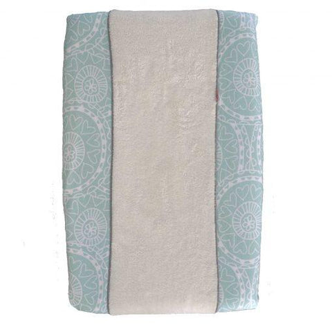 Witlof For Kids - Changing Pad Cover Little Lof Mint/Offwhite