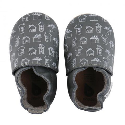 Bobux - Soft Soles Army House Print