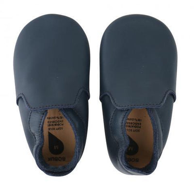 Bobux - Soft Soles Navy Loafer