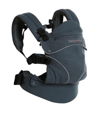 Babylonia - Flexia Baby Carrier Dark Grey
