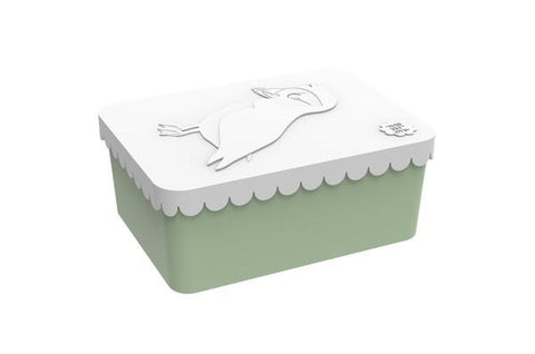 Blafre - Luchbox Small Puffin White/Green