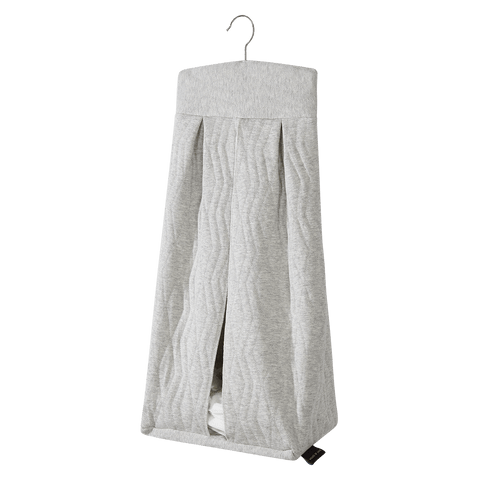 House Of Jamie - Diaper Stacker Geometry Jacquards Stone