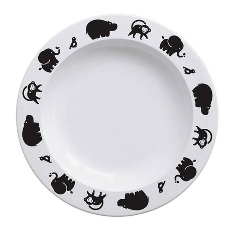 Buddy and Bear Plate Wild Animals