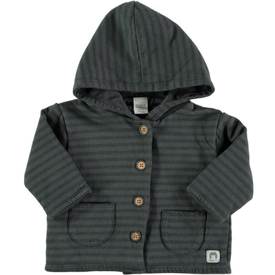 Bean's Barcelona - Striped Jacket Cerler Anthracite