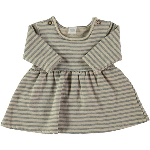 Bean's Barcelona - Striped Dress Niseko Stone