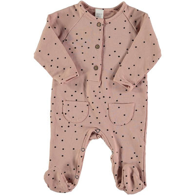 Bean's Barcelona - Snow Playsuit Lech Pink