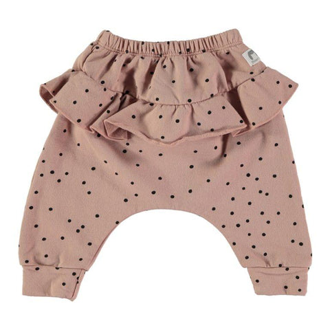 Bean's Barcelona - Girl Printed Pants Vars Pink