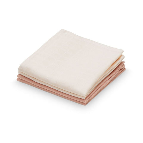 Cam Cam - Muslin Washcloth 4 pack Mix Nude/Blush