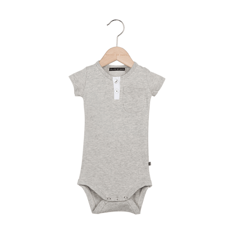 House of Jamie - Button Bodysuit Stone