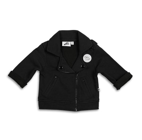 Cos I Said So - Biker Jacket With Badge