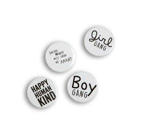 Cos I Said So - Badges