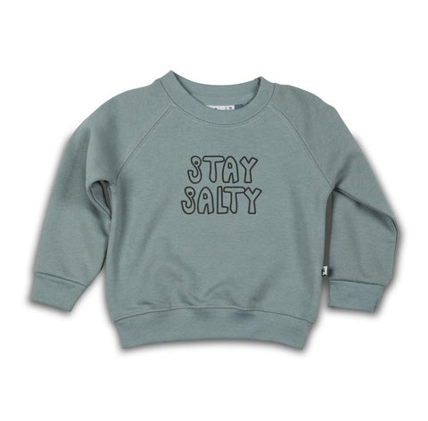Cos I Said So - Sweater Slate Stay Salty
