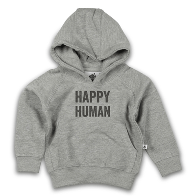 Cos I Said So - Hooded Sweater Grey Happy Human