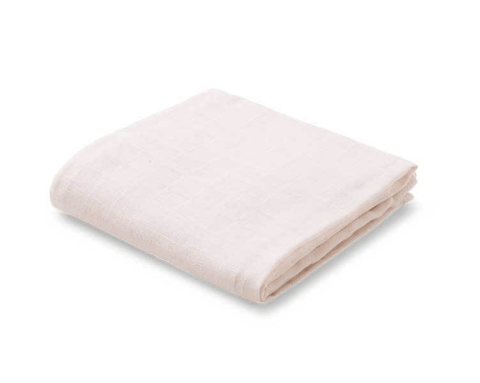 Liewood - Hannah Muslin Cloth Solid Sweet Rose 2 Pack