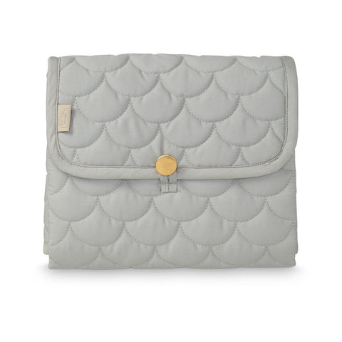 Cam Cam - Changing Mat Quilted Grey