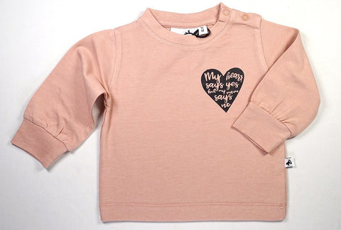 Cos I Said So - Long Sleeve Tee Pink My Heart Say