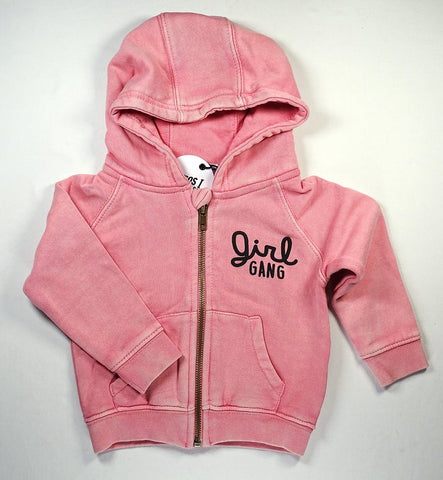 Cos I Said So - Hoodie Washed Pink Girl Gang