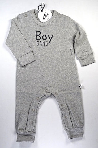 Cos I Said So - Onesie Heather Grey Boy Gang