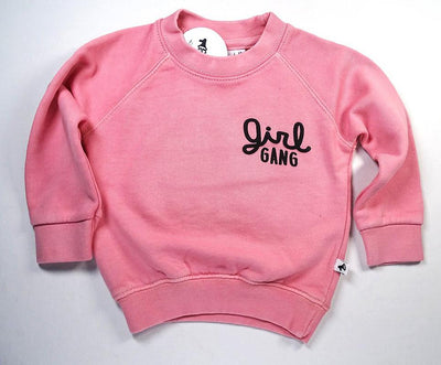 Cos I Said So - Sweater Washed Pink Girl Gang