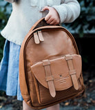 Elodie Details - Backpack Mini Chestnut Leather