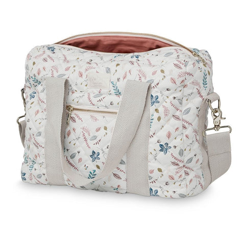 Cam Cam - Diaper Bag Pressed Leaves Rose