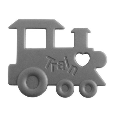 Nibbling - Teeting Toy Train Grey
