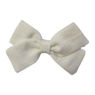 Little Millie - Hairclip Anna Bow White