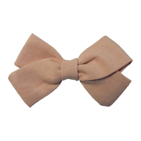 Little Millie - Hairclip Anna Bow Old Rose