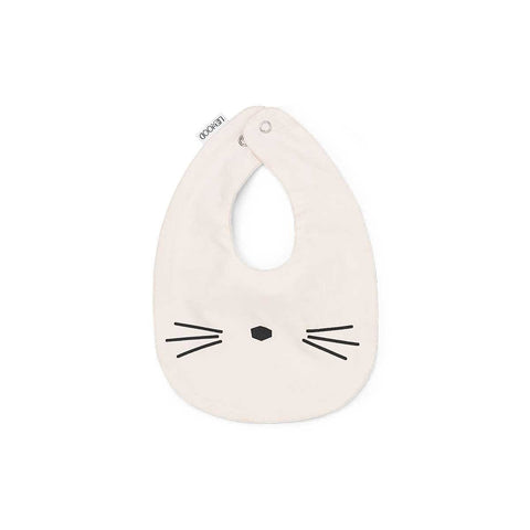 Liewood Henry bib cat sweet rose 2 pack