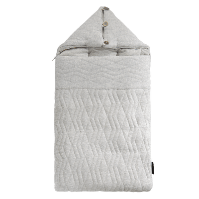 House Of Jamie - Travel Sleeping Bag Geometry Jacquards Stone