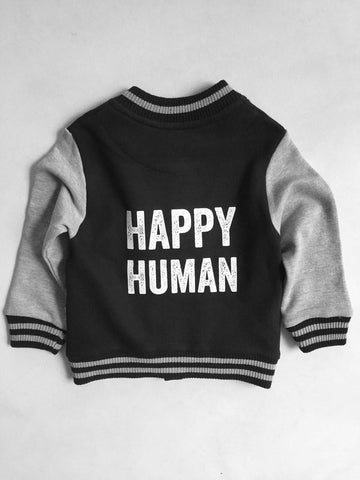 Baseball Jacket Happy Human