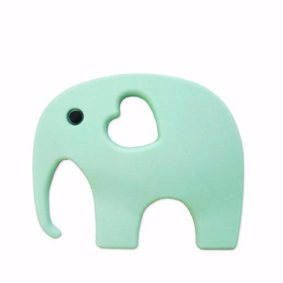 Blossom & Bear - Elephant Teether Mint Green