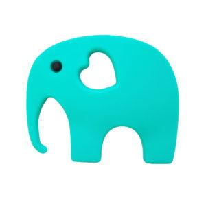 Blossom & Bear - Elephant Teether Turquoise