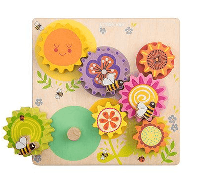 Le Toy Van - Gears & Cogs Busy Bee Learning