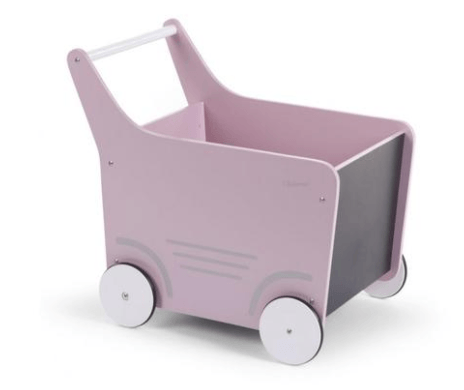 Childhome - WOODEN STROLLER Soft Pink